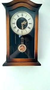 seiko pendulum wall clocks clock with chimes uk