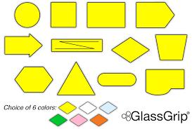 Glassgrip Damp Dry Erase Flow Chart Symbols
