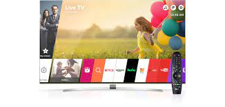 LG Smart TV w/ webOS: A World of Content