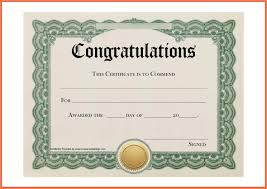 Free Certificate Templates Congratulations Valid Free Certificate