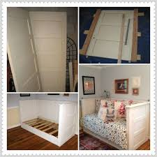 old door day bed daybed made from old farmhouse doors home