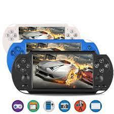 Máy chơi game đa năng 9in1 PSP X9 Plus - bộ nhớ 16Gb Đen - Chơi PSP/ GBA/  GBC/ Nes | DŨNG PHÁT STORE