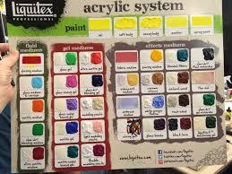 Liquitex Heavy Body Color Chart Liquitex Professional
