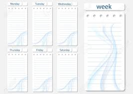 Daily Planner Sheets Stylish Weekly Daily Planner Template Organizer And Schedule