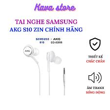 Review tai nghe akg s10 zin chính hãng kava store hỗ trợ  s8/s9/s9plus/s10/s105g