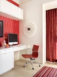 red black home office. Red, White And Black Home Office Red H