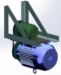 diy rotary phase converter homemade phase converter 3 d cad view of rotary phase converter