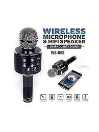 Audiomatic <b>WS</b>-<b>858 Wireless Bluetooth Microphone</b> Recording ...