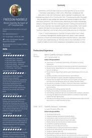Construction Estimator Resume Sample Senior Quantity Surveyor Estimator Resume Example Free