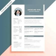 Modern Resume Template Free Download Word Cv Template Free Download Word Resume Templates Examples Doc