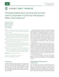pdf delta ceramic on alumina ceramic articulation in primary tha prospective randomized fda ide study and retrieval ysis