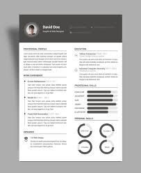 Free Elegant Resume (CV) Design Template PSD File ...