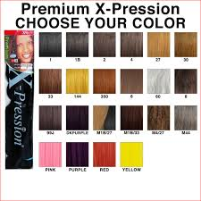 350 Hair Color Chart Amazing Xpressions Braiding Hair Color Chart Photos Of Hair