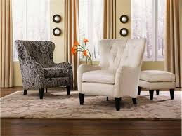 wingback contemporary accent chairs for living room