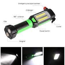 Linkax çok amaçlı otomobil araç manyetik LED el feneri güvenlik kaçış  kurtarma pencere kamp ışık satın al ~ Led Aydınlatması \ Store-Enson.cam