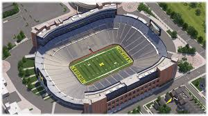 Bright Michigan State University Football Stadium Seating