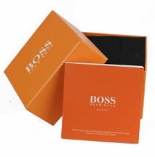 men s hugo boss orange berlin blue silicone strap watch 1513286