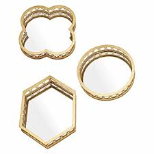 mirror zanui. monica mirror/tray (set of 3) mirror zanui n
