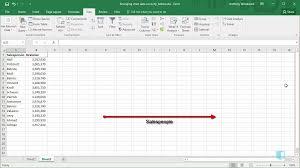 Arrange Chart Data Correctly Online Excel Training
