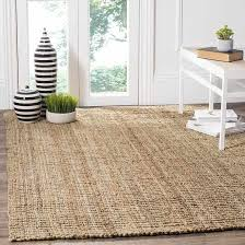 natural color jute area rug