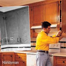 renew old kitchen cabinets in a weekend