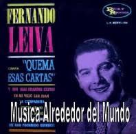 Fernando Leyva.- Canta Quema esas Cartas y sus más Grandes Exitos - Fernando-Leyva-198x196