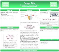 A2 Size Poster Presentation Template Poster Template Free Templates