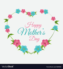 Mother Day Card Happy Mothers Day Card Design Royalty Free Vector Image