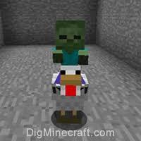 baby zombie minecraft riding chicken. Baby Zombie Riding Chicken For Minecraft DigMinecraft