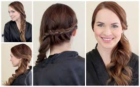 Easy Hair Style For Girl 2 graduation ready hairstyles youtube 1229 by wearticles.com