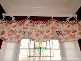 Living Room Curtains And Valances Decoration Topper Curtains Decorating Posey White Black Tab