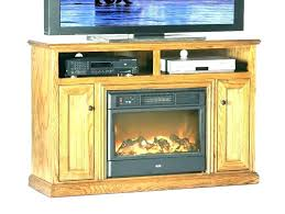 oak electric fireplace stand sears fireplaces large s stan