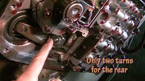 How to adjust bands and change automatic transmission fluid - YouTube