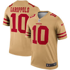 49ers Gold Francisco Jersey San