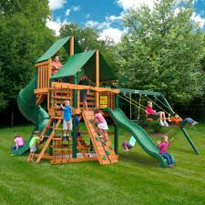 Costco Play Set | Playhouse Swing Set | Gorilla Playsets