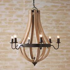 shocking wooden wine barrel stave chandelier and pics of from french ideas for trends wooden chandeliers