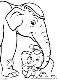 Dumbo Coloring Pages Educational Fun Kids Coloring Pages And