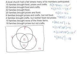 How To Solve Venn Diagram Word Problems Venn Diagram Example Problems And Solutions Leyme