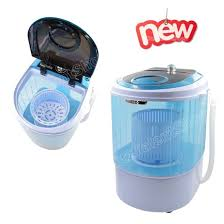 Mini Clothes Washer Portable Mini Washing Machine Washer Manual W Spin Basket Spinner