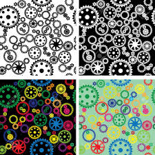 Different Types Of Patterns Impressive Patterns Of Different Types Of Gears Royalty Free Cliparts Vectors