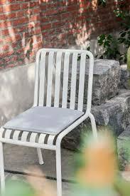 palissade seat cushion for chair armchair sky grey