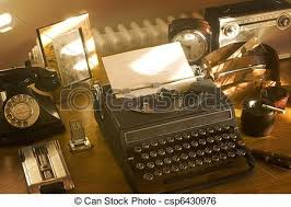 old office desk. Old Office Desk - Csp6430976 M