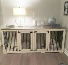 fancy dog crates furniture. the first beautiful decorative indoor wooden dog kennel built for two dogs itu0027s more than a crate but truly inspiring furniture fancy crates s