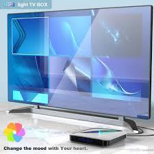 Light Smart Tv A95x F3 Air Rgb Light Tv Box Amlogic S905x3 Android 9 0 4gb 64gb Dual Wifi 4k 60fps A95xf3 X3 Smart Tv Box