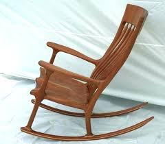 wooden rocking chair cushions cushion set nursery diy high back chairs