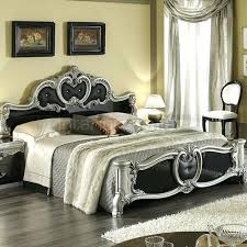 Italian Bedroom Classic Bed Black Silver Bedroom Furniture Italian Style  Bedroom Ideas