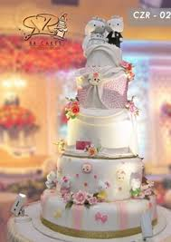 Rr Cake 5 Tingkat By Rr Cakes Bridestorycom