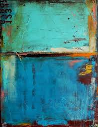20 24inch one panel framed oil painting vintage abstract blue color with numbers hand painted canvas ready to hang home decor wall paper art oil paintings