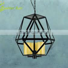 vintage iron modern glass shade pendant lamp of chandeliers from china suppliers 102189813