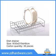 copper dish drainer kitchen countertop dish holder hardware rack